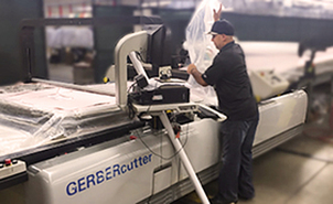 Exacta Garment Gerber Computerized Cutting Marking